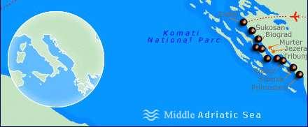 Kroatien Mitte
