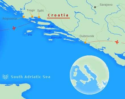 Kroatien Süd